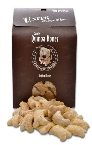Carob Quinoa Bones